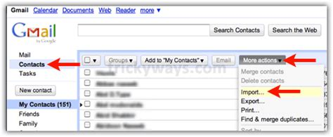 How To Search Gmail Address Transfer Apple Address Book To Gmail Import Contacts Into Gmail