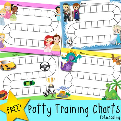 printable reward chart toilet training free potty training progress reward charts