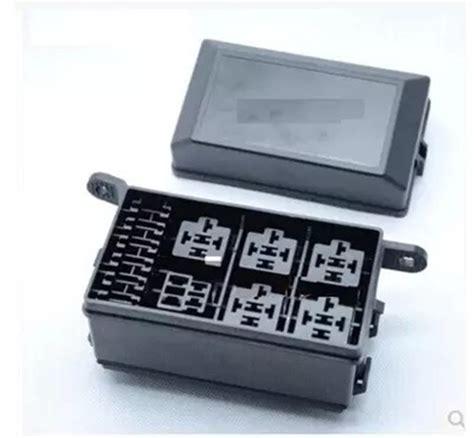 Car Relay Types by Auto Car Fuse Relay Holder Box Relay Socket 6 Relay 5 Road