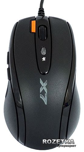 Mouse X7 F5 rozetka ua a4 tech x 710bh oscar mouse usb anti vibrate black a4 tech
