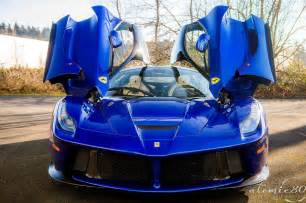 Laferrari Blue The Laferrari Looks Best In Blue
