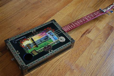 Handmade Cigar Box Guitars - custom cigar box guitar by rudely custommade
