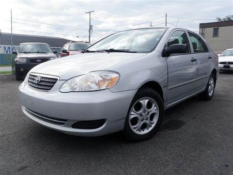 Used 2008 Toyota Corolla S For Sale 2008 Toyota Corolla Ce Port Colborne Ontario Used Car