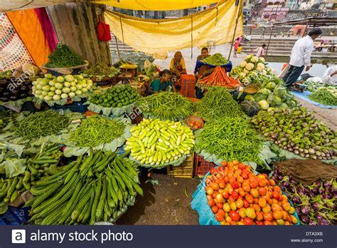 vegetables market vegetable stall at the weekly vegetable market nasik