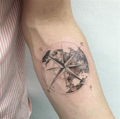 compass tattoo meaning and symbolism