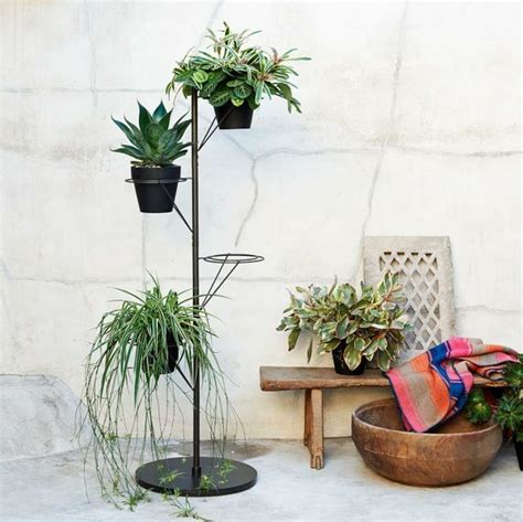 pole plant stand home decorating trends homedit