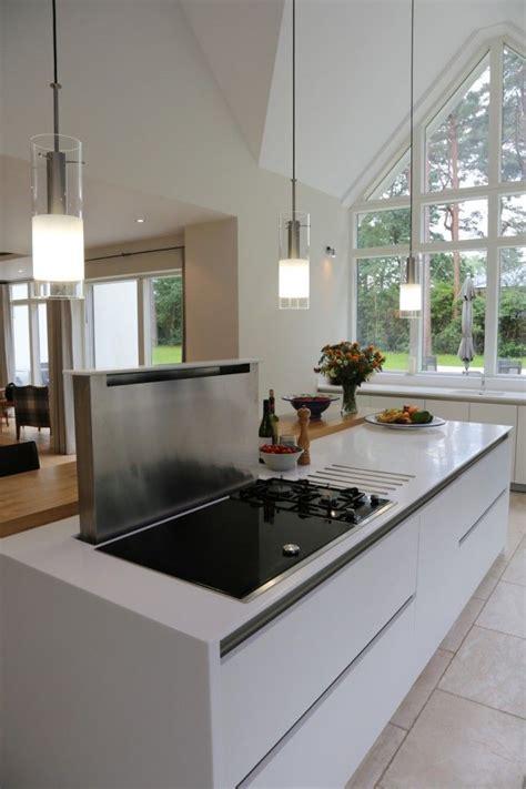 kitchen island extractor hood breakfast bar worktop with hob google search cuisine
