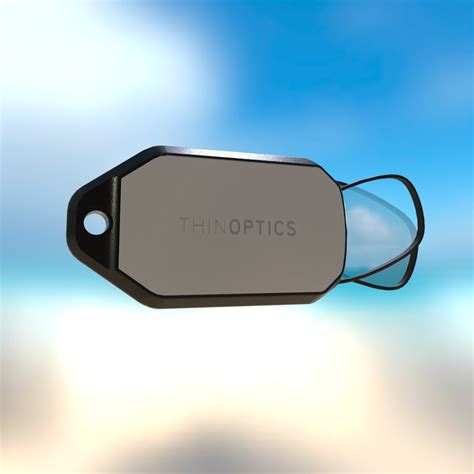 thinoptics keychain reading glasses gearnova