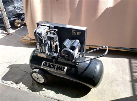 lot 48 coleman black max portable black air compressor wirebids
