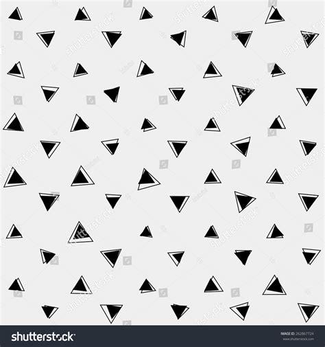 Topi Shape Simple Design pattern monochrome background simple triangle retro