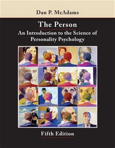 psychology 5th edition wiley the person an introduction to the science of