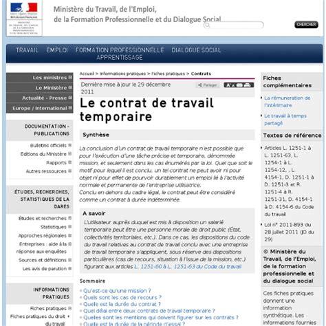 Lettre De Demande De Visa Temporaire contrat de travail temporaire lettre de motivation 2018