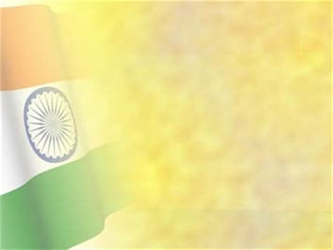 India Flag 07 Powerpoint Templates India Powerpoint Template