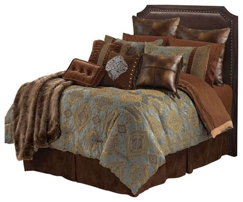 embroidered barbwire twin comforter mediterranean