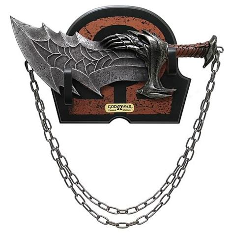 chaos god of war god of war kratos blade of chaos limited edition replica