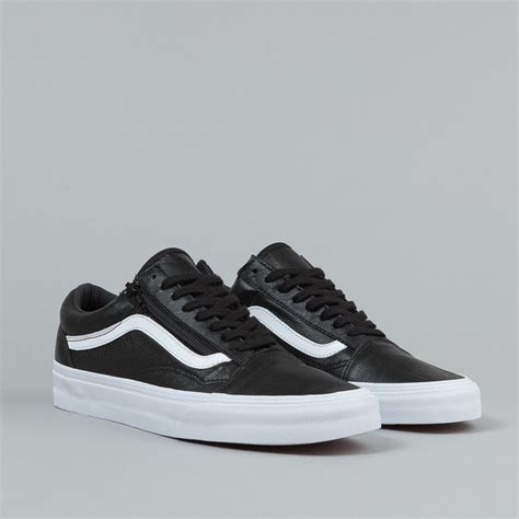 Vans Premium Surabaya Vans Oldskool Black Gum vans skool zip shoes premium leather black flatspot