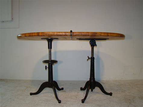 drafting table dining table drafting tables dining tables something industrial