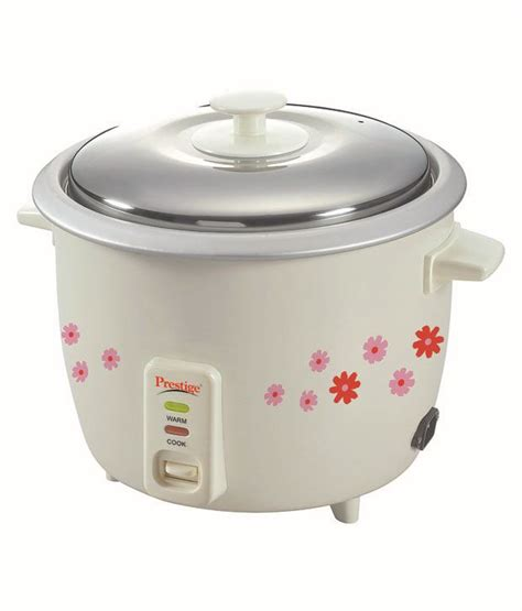prestige prwo 1 8 2 rice cookers price in india buy prestige prwo 1 8 2 rice cookers