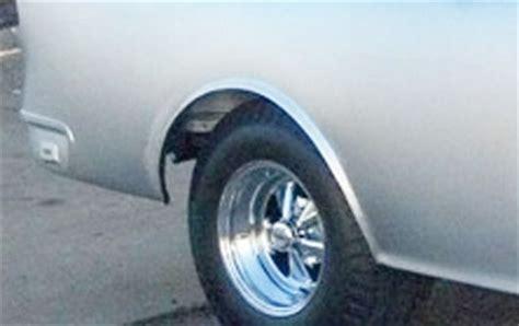 golden star rear wheel arch opening  chevy