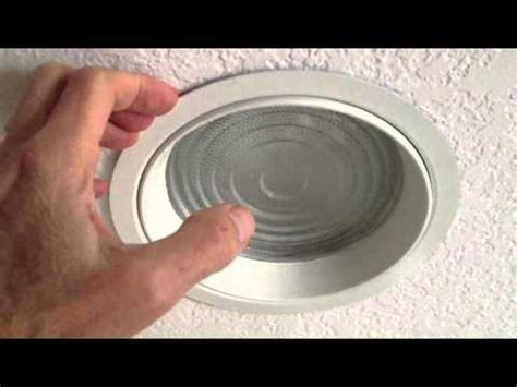 remove bathroom light cover changing shower light bulb in recessed fixture with lens