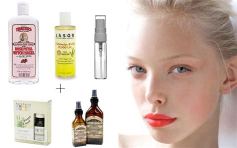 diy setting spray for skin diy makeup primer and setting spray sunnie brook