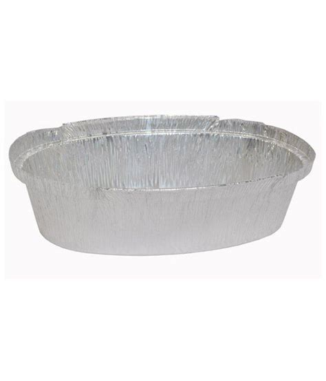 Aluminium Foil Oval Tanggung tpc aluminium foil oval container 660 ml pack of 100