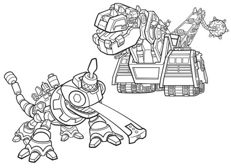 dino truck coloring page coloring page dinotrux d structs and revvit 3