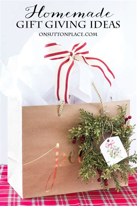 homemade christmas gift ideas on sutton place