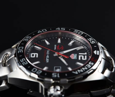 Tagheuer Senna Grey Black 1 in depth review 2016 tag heuer formula 1 senna chronograph the home of tag heuer