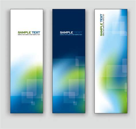 vertical layout web design exquisite vertical banner design vector 02 vector banner