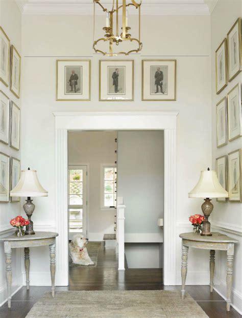 foyer paint colors benjamin demi lune tables traditional entrance foyer benjamin