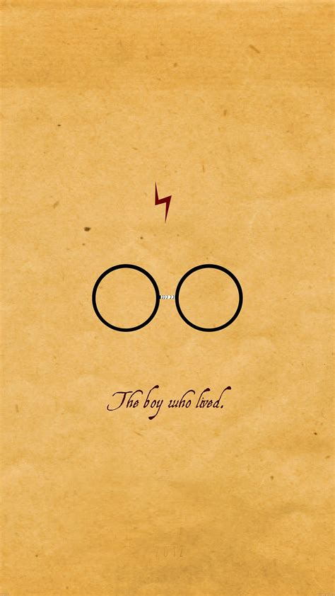 minimal harry potter iphone wallpapers