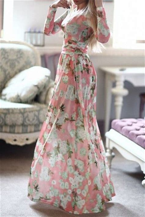 Overall Maxi Dress Vintage Bunga Floral Flower Jumpsuit Rok Gamis Maxy sleeve floral maxi dress sleeve maxi dresses
