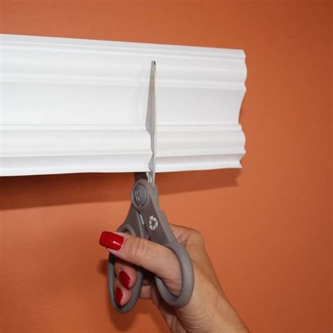 stick on wall amazon com easy crown molding peel and stick crown