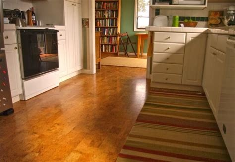 is cork floor tile good for your kitchen flooring