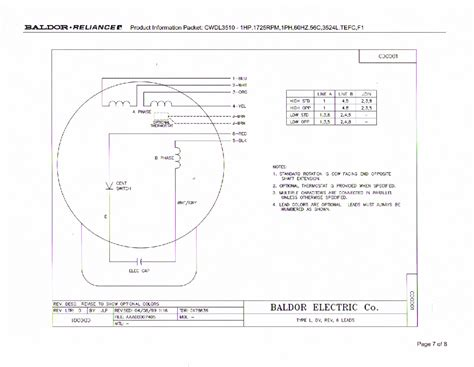 reliance electric motor wiring diagram reliance free