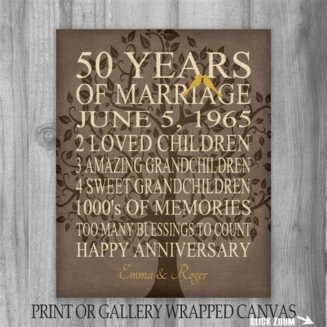 50th wedding anniversary ideas on 80 best anniversary gift ideas images on
