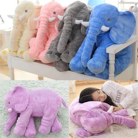 Bantal Boneka Anak bantal boneka binatang anak kecil bayi bantal lembut tidur mainan gajah shopee indonesia