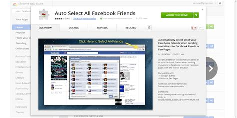 facebook themes chrome store the best autoselect all facebook friends tool