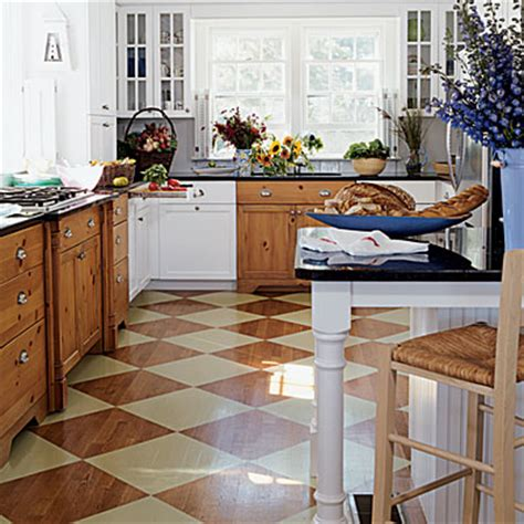 painted kitchen floor ideas painting wood floors
