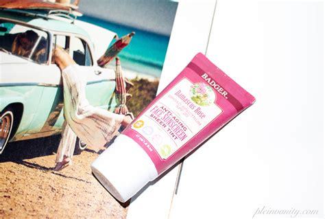 Badger Zinc Oxide Tinted Sunscreen Sz badger spf 20 damascus tinted sunscreen