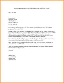 Cover Letter Exle Introduction 6 How To Write A Letter Of Introduction For College Introduction Letter