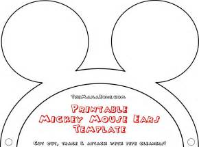 mickey template mickey mouse ears printable template pictures to pin on