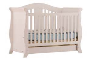 Convertible Crib White Vittoria White 3 In 1 Fixed Side Convertible Crib At Gowfb Ca Baby Furniture Storkcraft