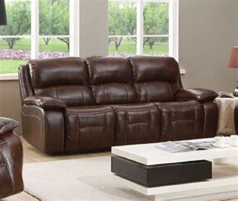 Top Grain Leather Recliner Sofa Westminster Top Grain Leather Reclining Sofa