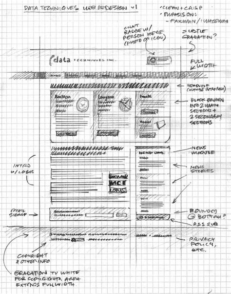 grid layout mobile 20 exles of web and mobile wireframe sketches
