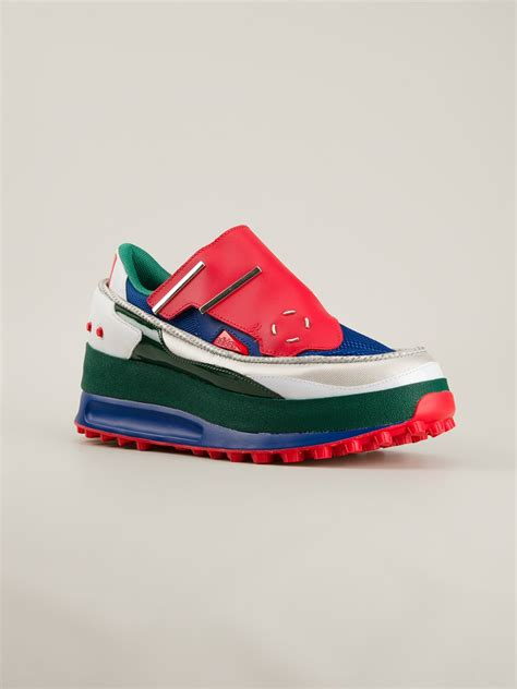 raf simons adidas sneakers adidas by raf simons bunker sneakers in multicolor for