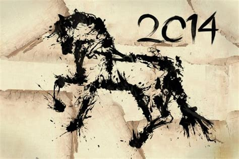 new year 2014 animal horoscope taking the reins the year of the wooden 2014