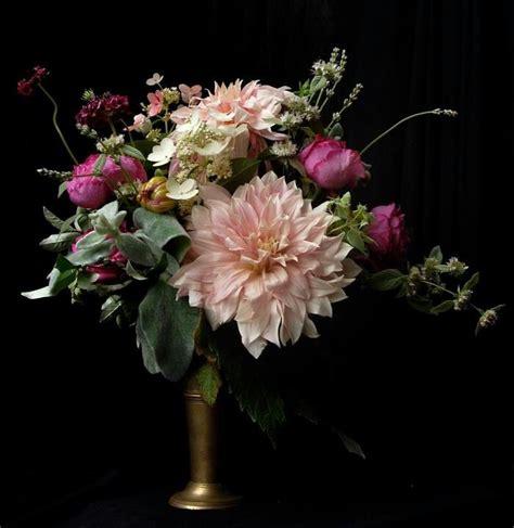 dahlia arrangement floral pinterest