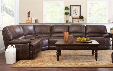 klaussner canyon sectional sofa klaussner international foster six piece power reclining